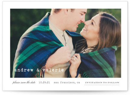 Smitten Save the Date Postcards