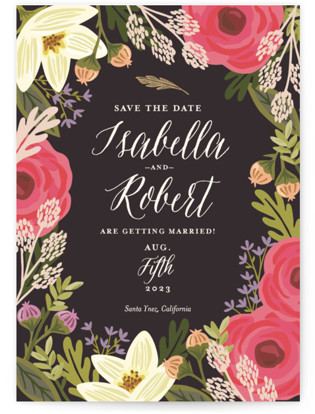 Rhapsody Save the Date Postcards