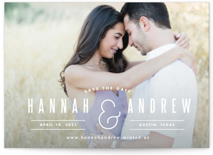 photo of And Save The Date Postcards