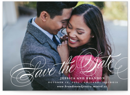 photo of Style Save The Date Postcards