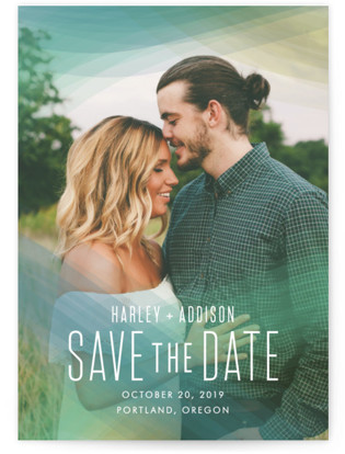 Radiant Simplicity Save the Date Postcards
