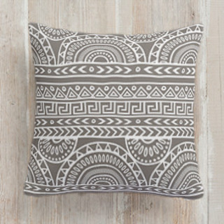 Tribal Mix Square Pillow