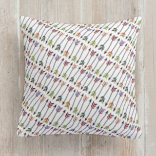 Tribal Arrows Square Pillow