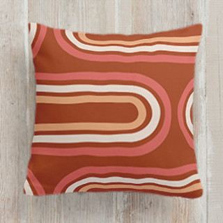 This is a orange pillow by Iveta Angelova called Summertime printing on premium cotton.