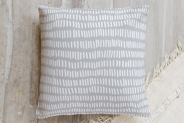Custom Grey Division Square Pillow