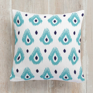 Tales from India Square Pillow