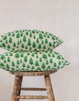 wood for the trees Pillows