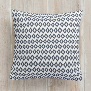 Organic Diamonds Square Pillow