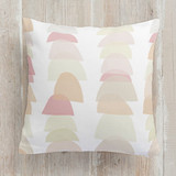 This is a colorful pillow by JPress Designs called Gumdrops printing on premium cotton.