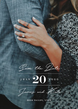 In Love Save the Date Cards By Eric Clegg