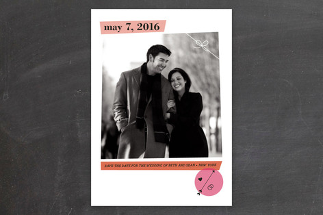 Glam Save The Date Cards