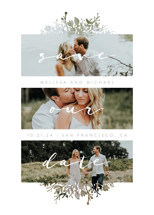 Whispers Save the Date Cards By JeAnna Casper