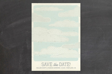 Sweetly Adrift Save The Date Cards
