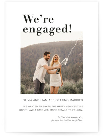 It's a Date! Engagement Announcements