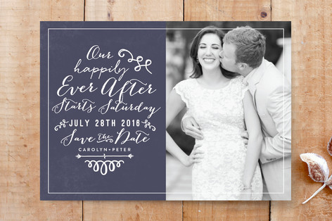 Fairytale wedding save the date cards by r studio minted