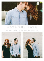 The Simple Things Save the Date Cards By Giselle Zimmerman