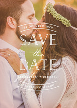 Sweet Embrace Save the Date Cards By Hooray Creative