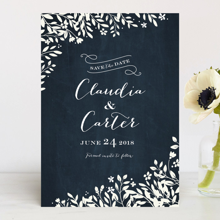 Sun Prints Save The Date Cards By Jennifer Wick Minted