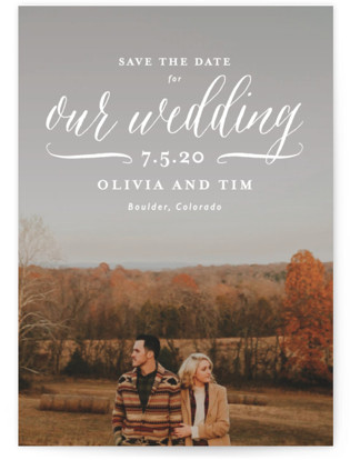 photo of Postcard Perfect Save The Date Cards