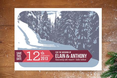 Alpine Save The Date Cards