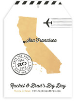 State Your Date - California Save The Date Cards