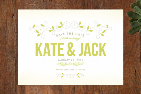 Twine Save The Date Cards