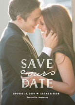 XOXO Save the Date Cards By Carolyn MacLaren