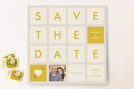 Squared Save The Date Cards
