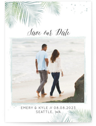 Sunny Wedding Save the Date Cards