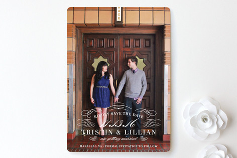 Refined Save The Date Cards