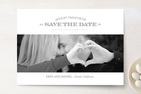 Simply Saved Save The Date Cards
