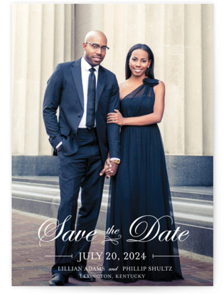photo of At Last Save The Date Cards