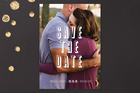 Graphique Save The Date Cards
