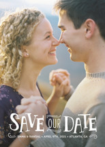 Story Book Save the Date Cards By Kristen Smith
