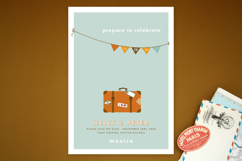 Prepare to Celebrate Save The Date Cards
