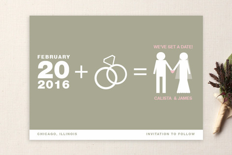 Matrimony Save The Date Cards