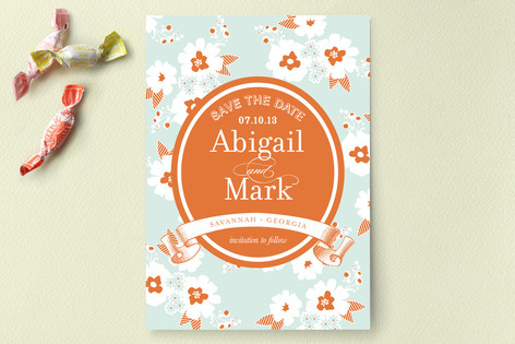 Sweet Summer Save The Date Cards