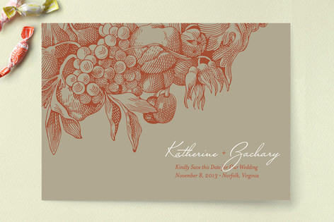 Cornucopia Save The Date Cards