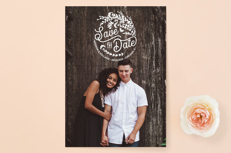 Wildflower Save The Date Cards
