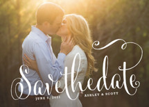 Modern Romance Save the Date Cards By Melanie Severin