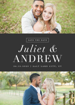 New Modern Save the Date Cards By Stacey Meacham