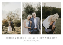 maybe im amazed Save the Date Cards By Jula Paper Co.