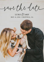 Pretty Love Save the Date Cards By Christine Taylor