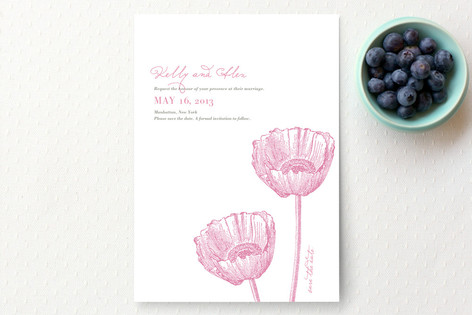 Garden Syndrome Save The Date Cards