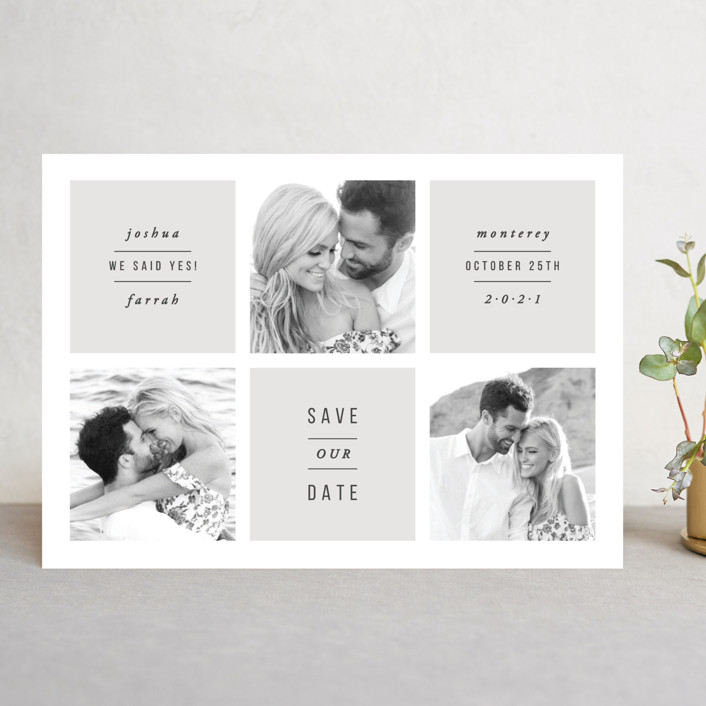 Charming Save The Date Cards By Hooray Creative Minted