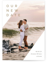 This is a black save the date by Pixel and Hank called I'm Yours with standard printing on smooth signature in standard.