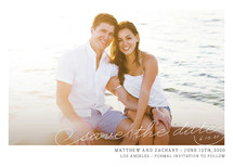 Vintage Photograph Save the Date Cards By annie clark