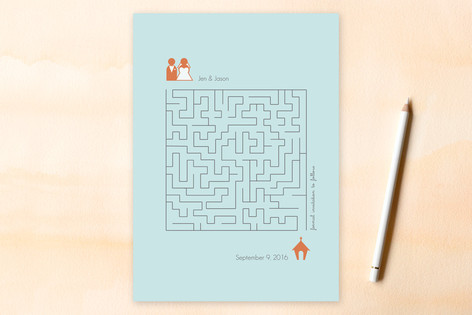 Love Maze Save The Date Cards