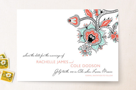 Cabo in the Fall Save The Date Cards