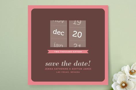 Calendar Slot Save The Date Cards